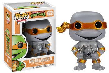 image de Michelangelo (Grayscale Metallic)