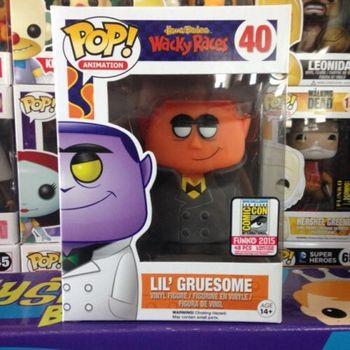 image de Lil' Gruesome (Orange Face) (Black Coat)