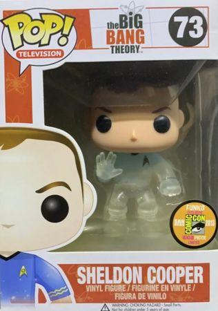 image de Sheldon Cooper #73 (Star Trek, Transporting) [2013 SDCC]