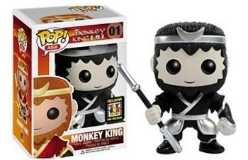 image de Monkey King (Black & White)