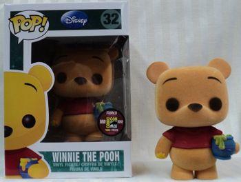 image de Winnie the Pooh (Flocked)