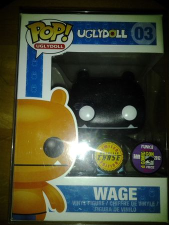 image de Wage (Black) (Metallic)