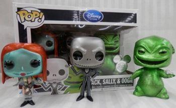 image de Jack, Sally, And Oogie (Metallic)