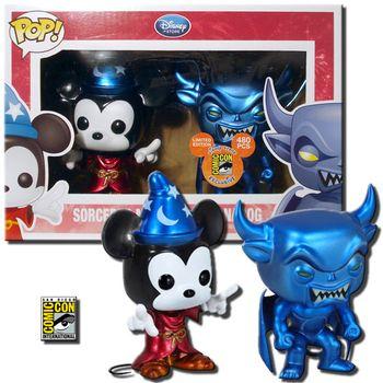 image de Sorcerer Mickey And Chernabog (Metallic)