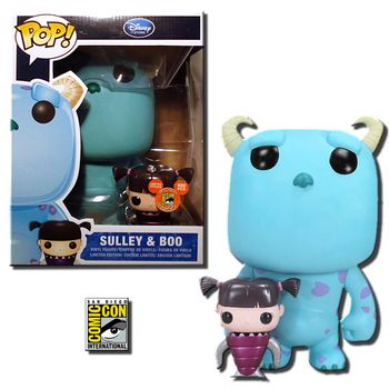 image de Sulley (Large) and Boo (Metallic)