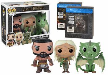 image de Khal, Khaleesi, And Rhaegal