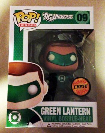 image de Green Lantern (Bobble-Head) (Metallic)