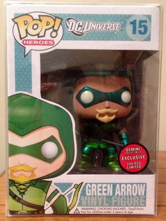 image de Green Arrow (Metallic)
