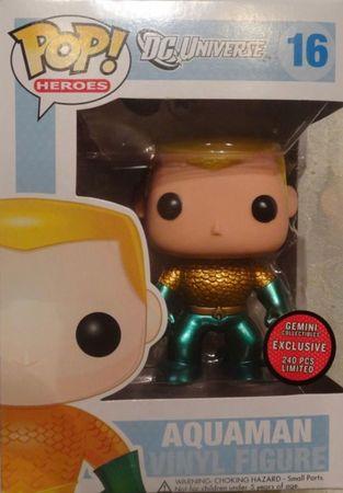 image de Aquaman #16 (Metallic) [Gemini Collectibles]