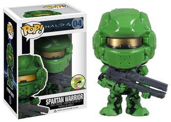image de Spartan Warrior (Green)