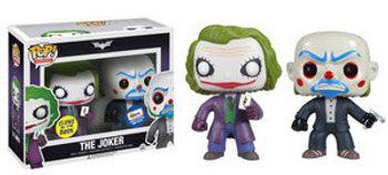 image de The Joker & The Joker Bank Robber (Glow, 2-Pack) (Gemini Collectibles)
