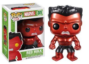 image de Red Hulk #31 (Metallic, Bobble-Head) [2013 SDCC]