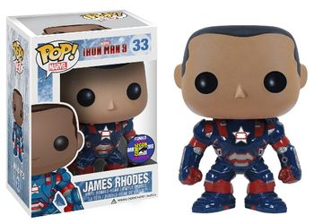 image de James Rhodes #33 (Bobble-Head) [2013 SDCC]