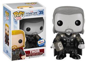 image de Thor #35 (Black & White, Bobble-Head) [Gemini Collectibles]