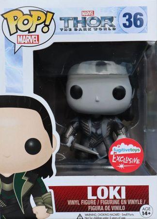 image de Loki #36 (Black & White) [Fugitive Toys]