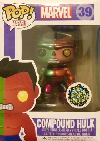 image de Compound Hulk #39 (Metallic, Bobble-Head) [Toy Anxiety]