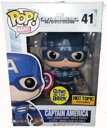 image de Captain America (Winter Soldier) (Glow in the Dark)