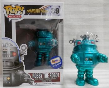 image de Robby the Robot (Turquoise Metallic)