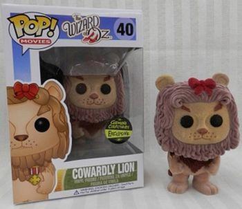 image de Cowardly Lion #40 (Flocked) [Gemini Collectibles]