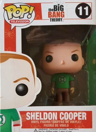 image de Sheldon Cooper #11 (Green Lantern Shirt)