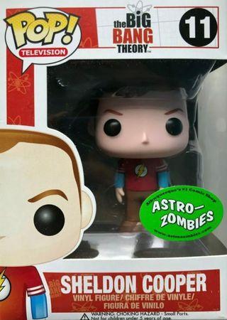 image de Sheldon Cooper #11 (Flash Shirt) [Astro-Zombies]