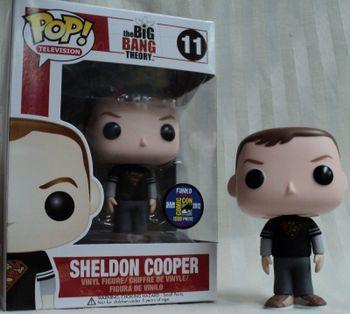 image de Sheldon Cooper #11 (Superman Shirt) [2012 SDCC]