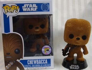 image de Chewbacca (Flocked)