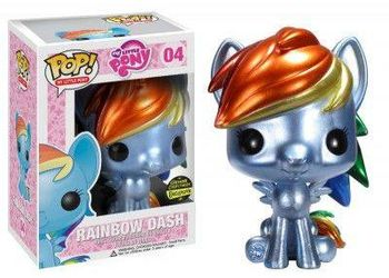 image de Rainbow Dash (Metallic)