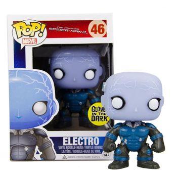 image de Electro #46 (Glow, Metallic, Bobble-Head) [Hot Topic]