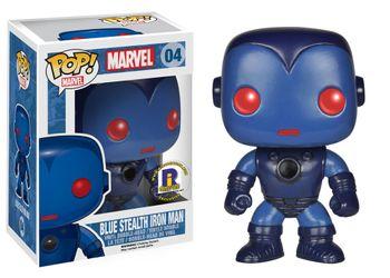 image de Blue Stealth Iron Man (Bobble-Head) [2014 Rhode Island Comic-Con]
