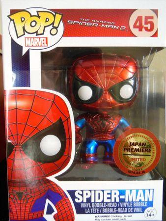 image de Spider-Man (The Amazing Spider-Man 2) (Metallic)