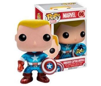image de Captain America (Unmasked) (Metallic)