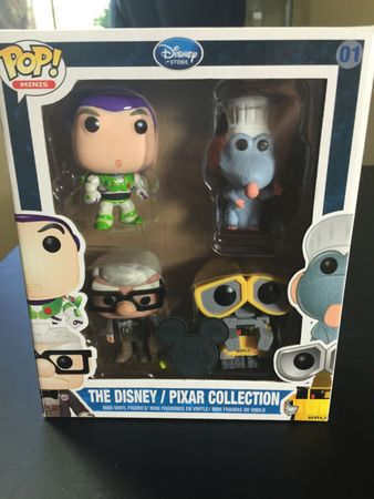 image de The Disney/Pixar Collection (Buzz Lightyear, Remy, Wall-E, Carl)