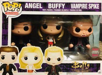 image de Angel  Buffy  Vampire Spike (3-Pack) [HMV]