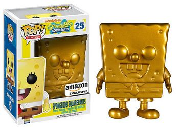 image de Spongebob Squarepants (Gold)