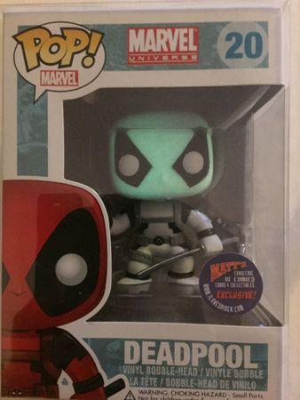 image de Deadpool (Black & White) (Glow Head - Error)