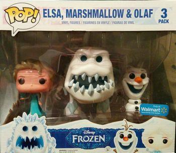 image de Elsa, Marshmallow, & Olaf (3-Pack)