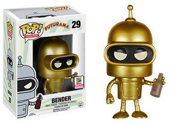 image de Bender (Gold) [SDCC]