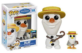 image de Olaf (Barbershop Quartet) (w/ Bird) [Summer Convention]