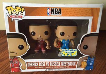 image de Derrick Rose VS Russell Westbrook