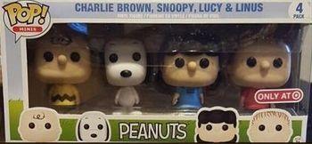 image de Charlie Brown, Snoopy, Lucy, & Linus (Peanuts 4-Pack)