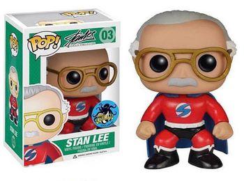 image de Stan Lee (Superhero) (Red)