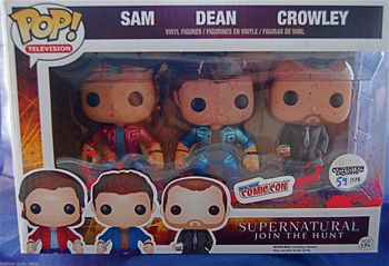 image de Sam, Dean, & Crowley (Metallic) (Bloody) (3-Pack)