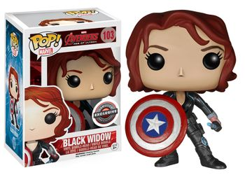 image de Black Widow (w/ Shield)