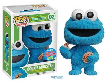 image de Cookie Monster (Flocked)