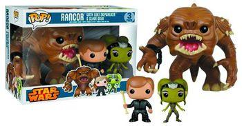 image de Rancor, Luke Skywalker, & Oola (3-Pack)