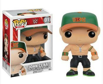 image de John Cena (Orange and Green)