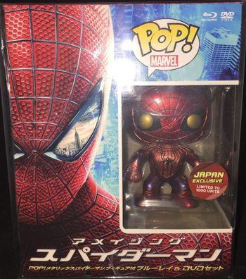 image de Spider-Man (The Amazing Spider-Man) (Metallic) (Blu-ray)