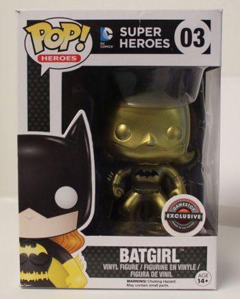 image de Batgirl (Gold - Black Symbol)