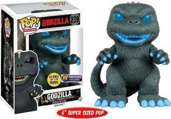 image de Godzilla (Atomic Breath) (Glow in the Dark)